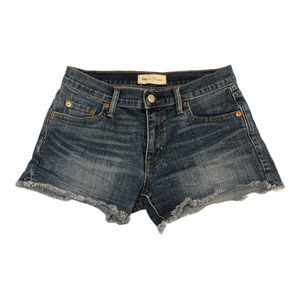 "GAP Jean Shorts Cut Off 24 3"" Short Stretch"